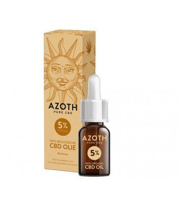 Aceite de cbd puro azoth 10 ml 500 mg cbd