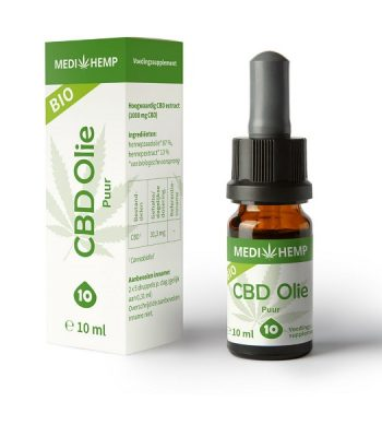 aceite de cbd puro medihemp 10 ml 1000 mg cbd