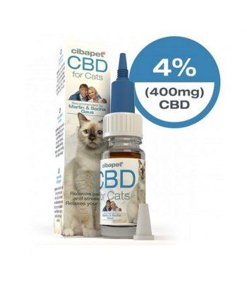 Aceite de CBD para gatos Cibapet 10 ml 400 mg cbd