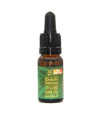 aceite de CBD raw dutch hemp 10 ml 1000 mg