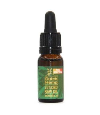 aceite de CBD raw dutch hemp 10 ml 2500 mg