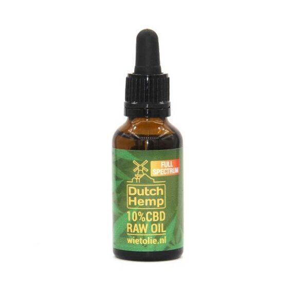 aceite de CBD raw dutch hemp 30 ml 3000 mg