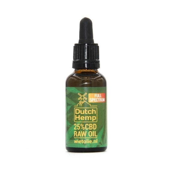 aceite de CBD raw dutch hemp 30 ml 7500 mg
